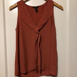 Forever 21 Rust Colored Sleeveless Tank